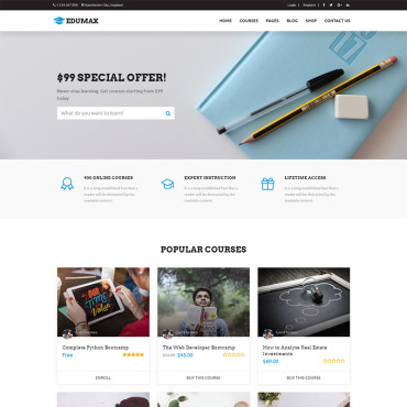Website Template № 71032