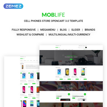 Template Electronice OpenCart #71034