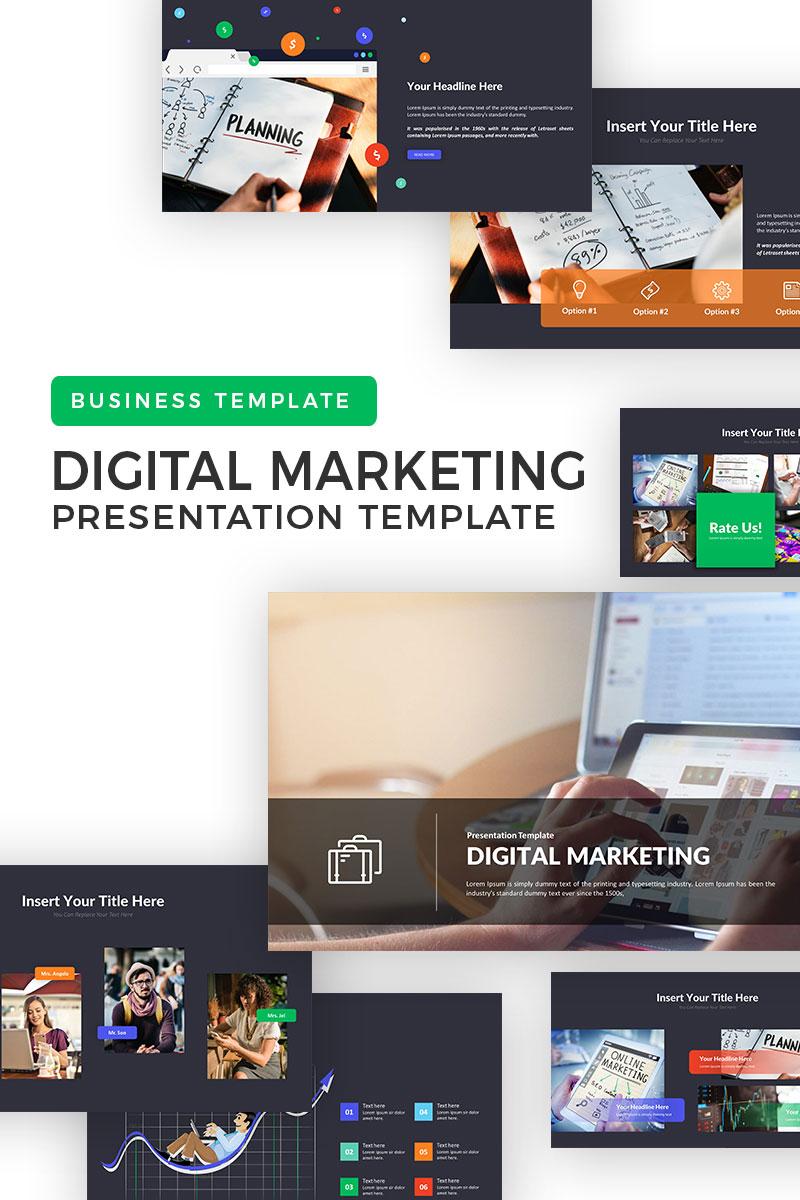 Digital Marketplace PowerPoint Template