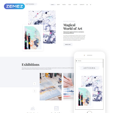 Website Template № 71106
