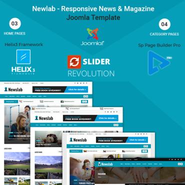Template Mass-Media Joomla #71136