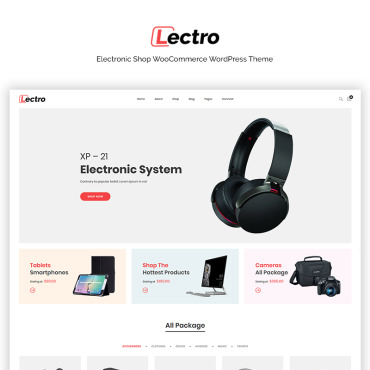 Template Electronice WooCommerce #71143