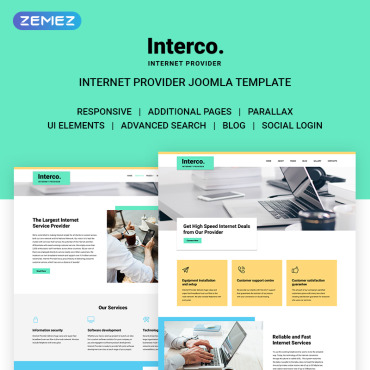 Website Template № 71167