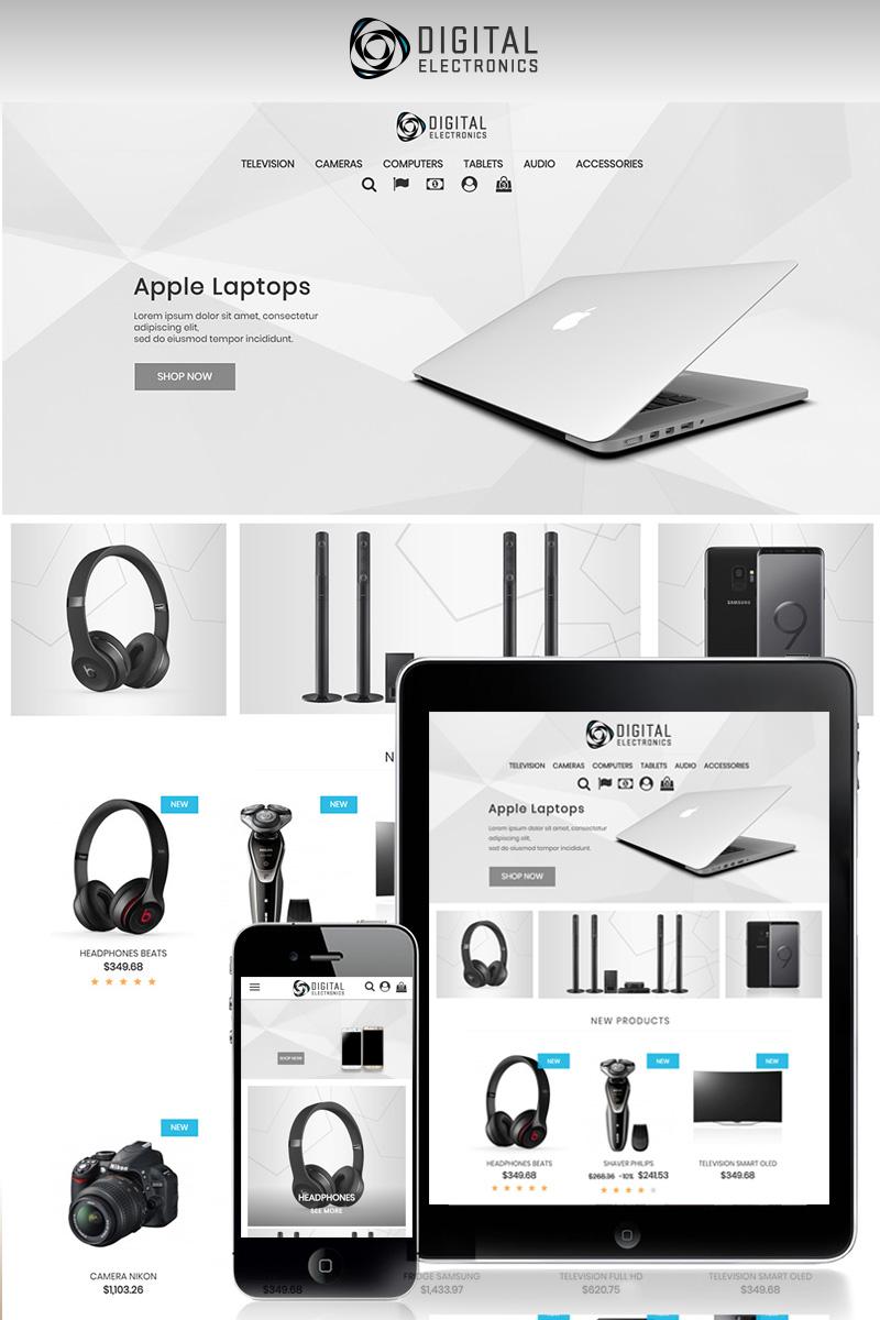 Digital Electronics Store 1.7 PrestaShop Theme