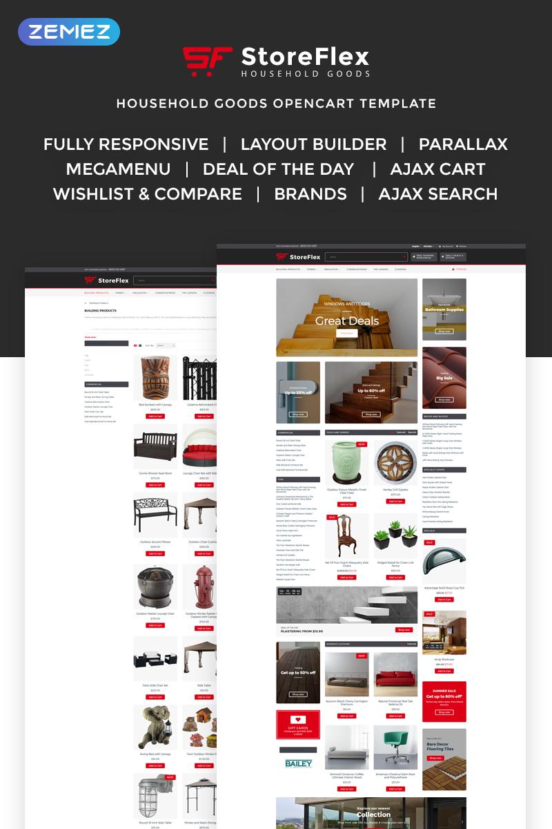 Storeflex Responsive OpenCart Template