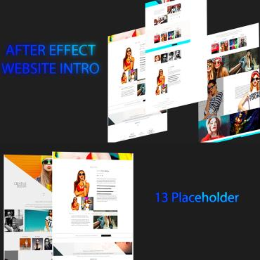 Template Intros After Effects #71263