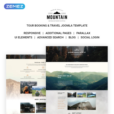 Website Template № 71306