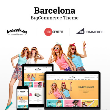 Template Modă BigCommerce Themes #71427