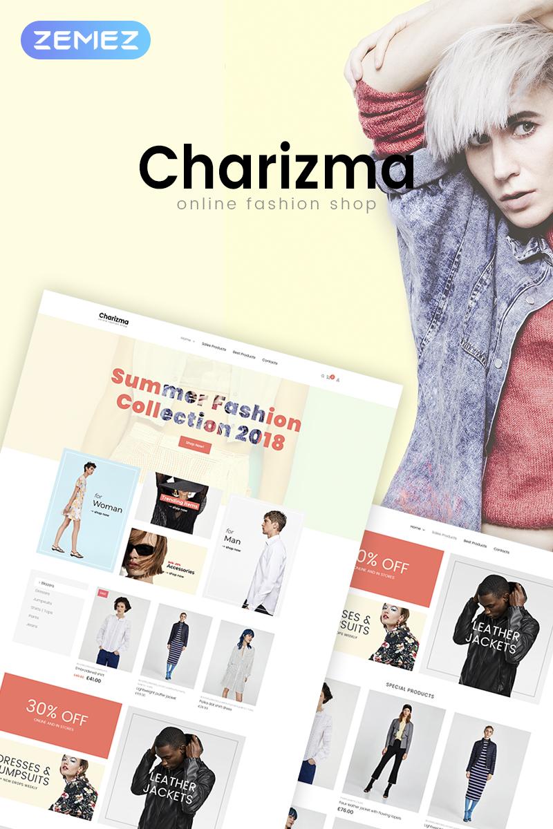 Charizma - Fashion Store Elementor WooCommerce Theme