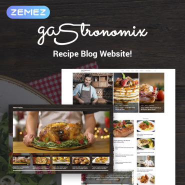Template Cafenele și restaurante WordPress #71450