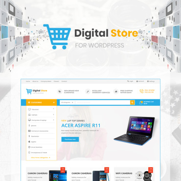 Template Software WooCommerce #71478