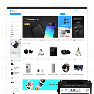 Template Electronice BigCommerce Themes #71521