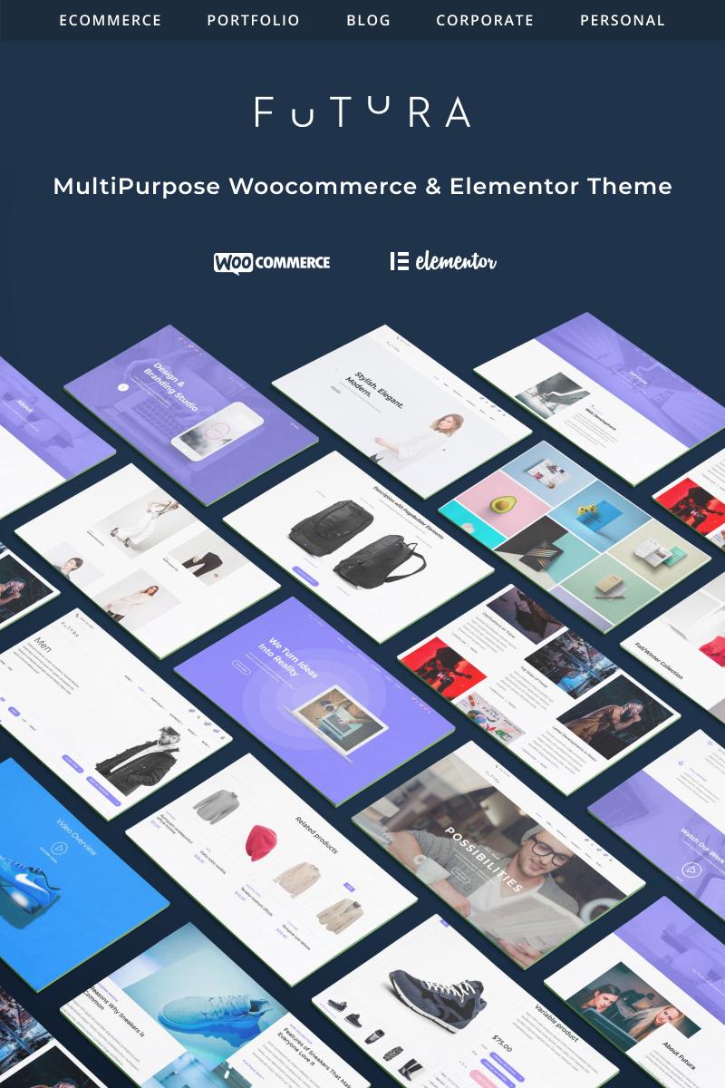 Futura - MultiPurpose High-Perfomance Elementor &amp WooCommerce Theme