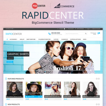Template Modă BigCommerce Themes #71560