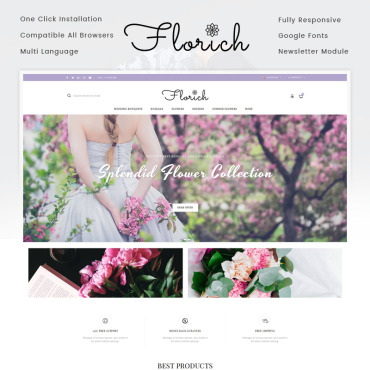 Website Template № 71742