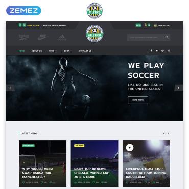 Template Sport HTML, JS şi CSS #71849