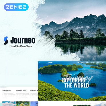 Template Turism WordPress #71866