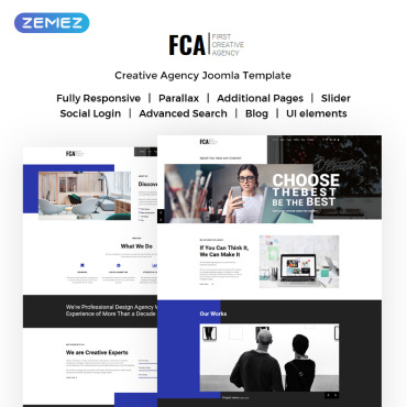 Website Template № 71880