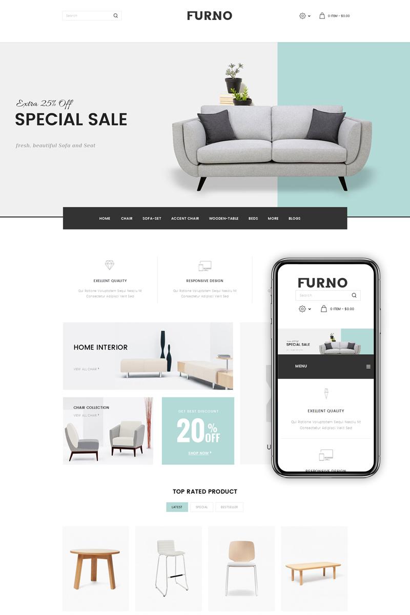 Furno - Furniture Store OpenCart Template