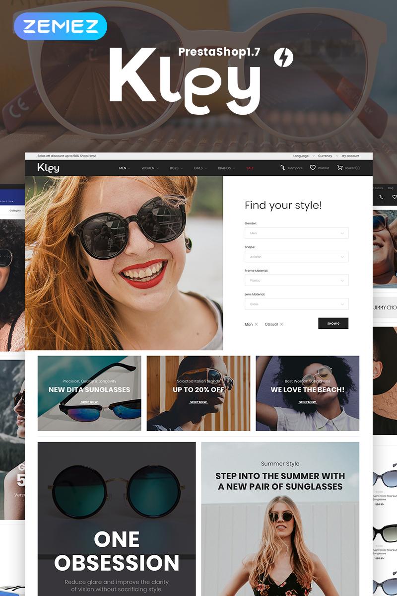 Kley - Sunglasses Store PrestaShop Theme