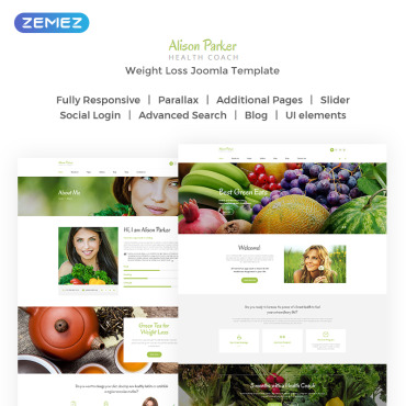 Website Template № 72021