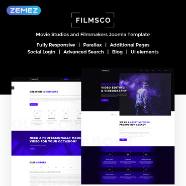 Website Template № 72054