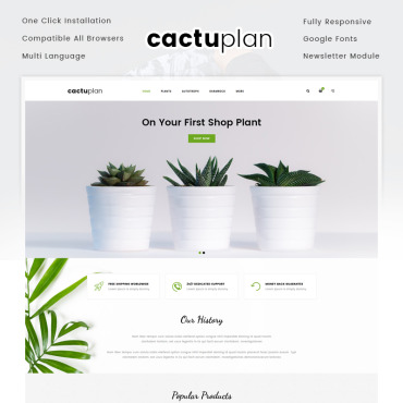 Website Template № 72055