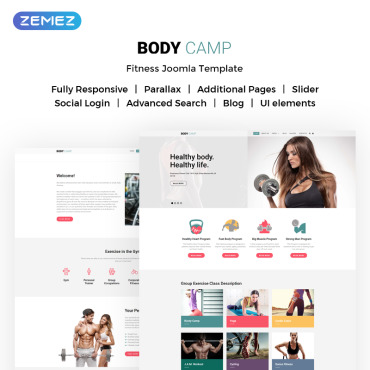 Website Template № 72091