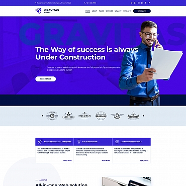 Website Template № 72222