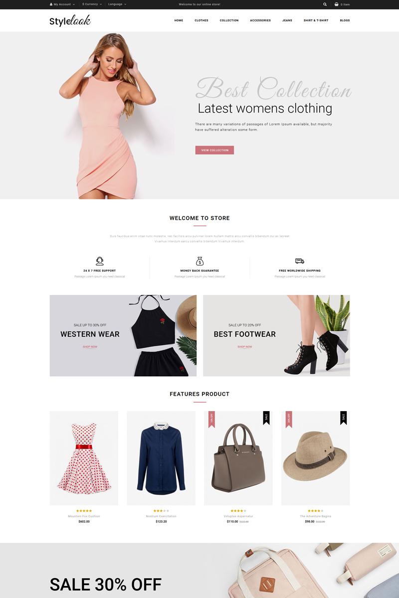 StyleLook OpenCart Template