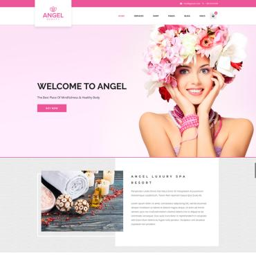 Template Frumusețe WordPress #73332