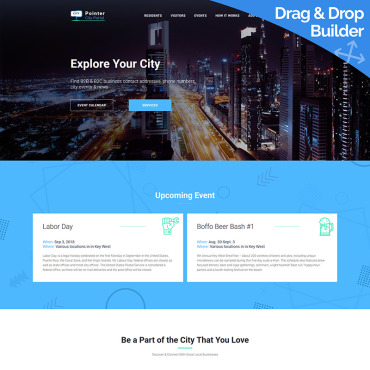 Website Template № 73334