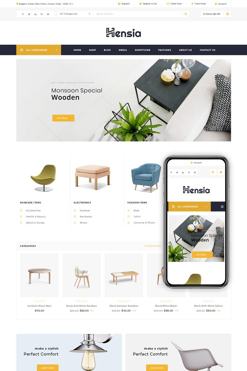 Hensia - Furniture WooCommerce Theme