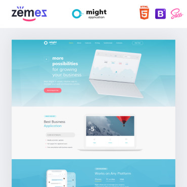Website Template № 73394
