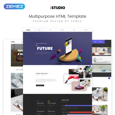 HTML/CSS Template #73395