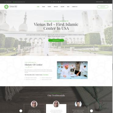 Template Religie WordPress #73432
