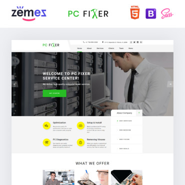 Website Template № 73434