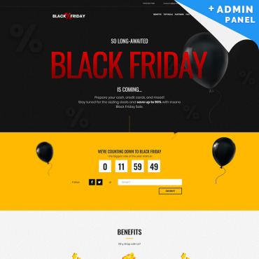 Website Template № 73538
