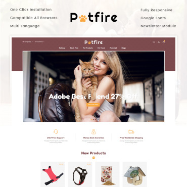 Website Template № 73583
