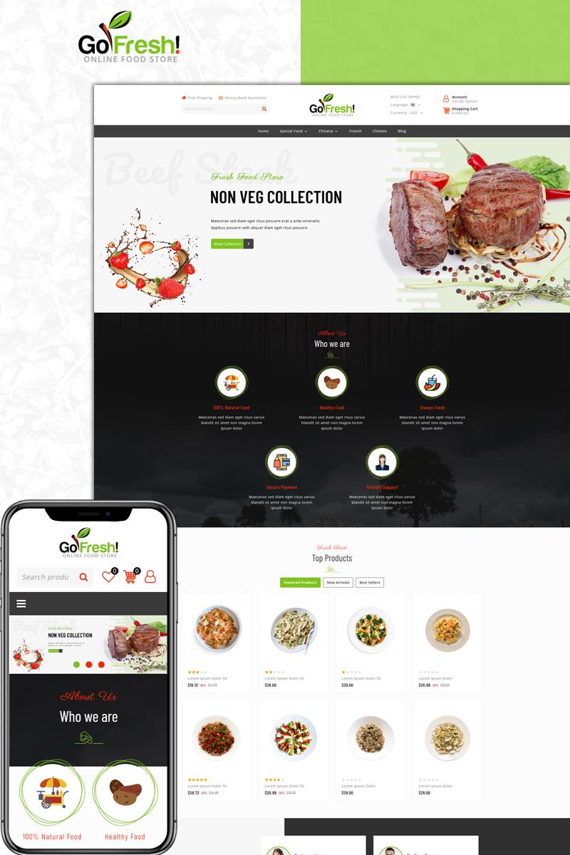 GoFresh - Food Store PrestaShop Theme
