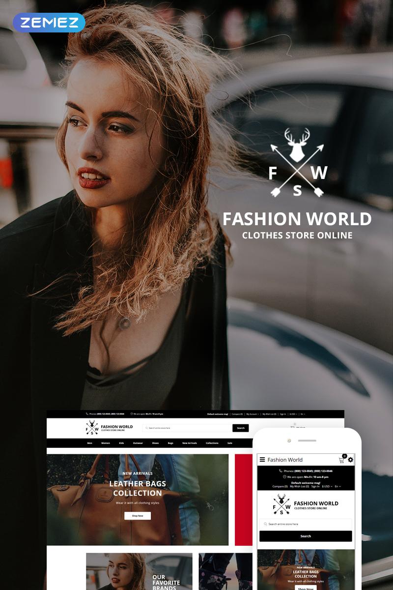 Fashion World OpenCart Template