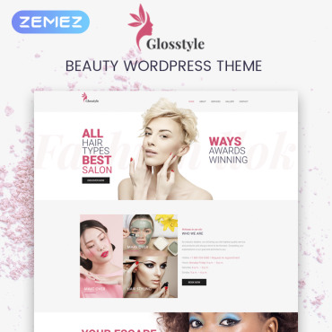 Template Frumusețe WordPress #73692