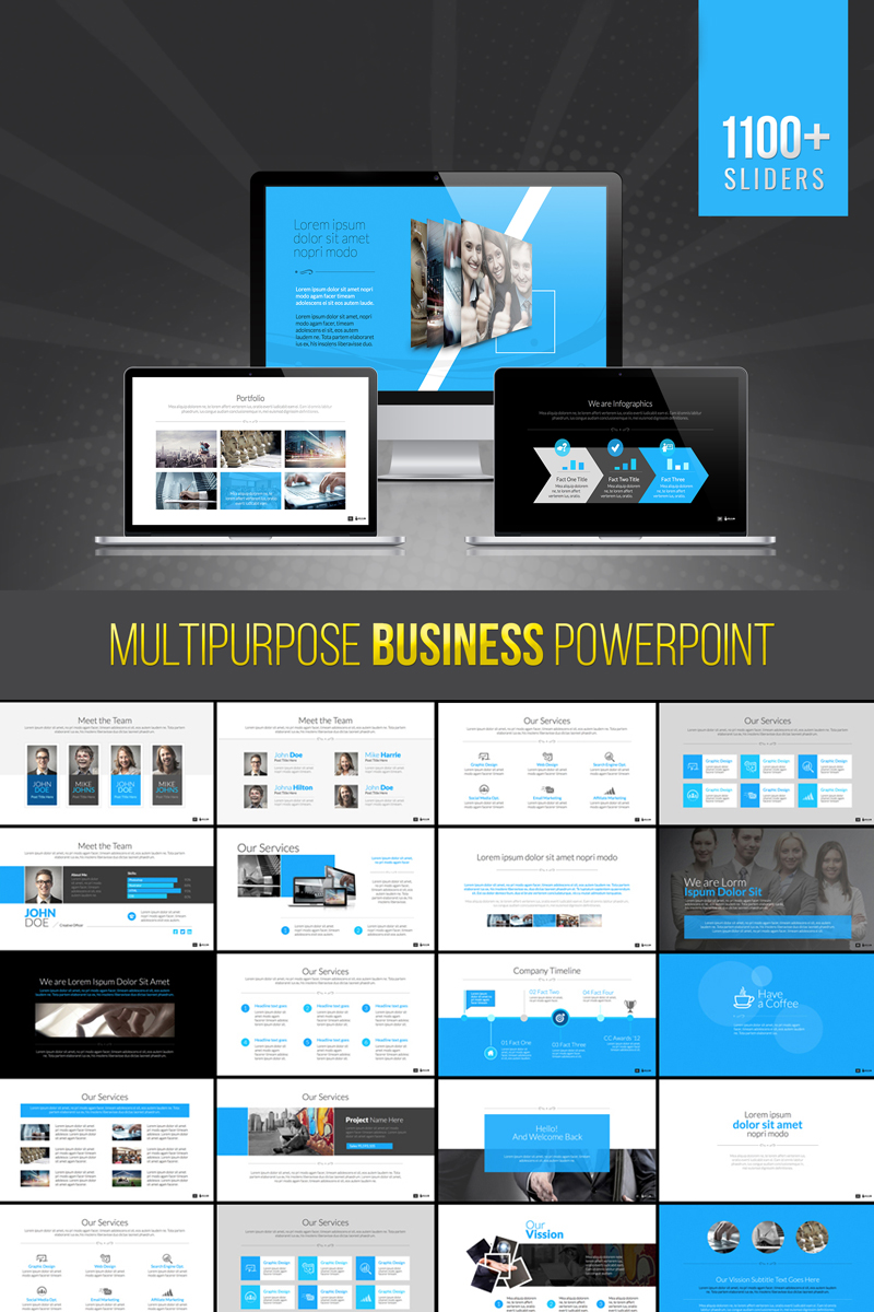 Bravo | Multipurpose Business PowerPoint Template