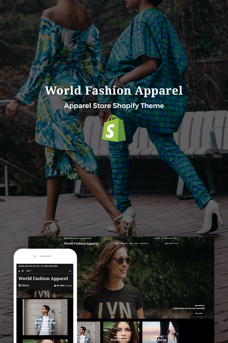 Fashion World Apparel Shopify Theme