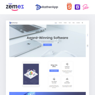 Website Template № 73762
