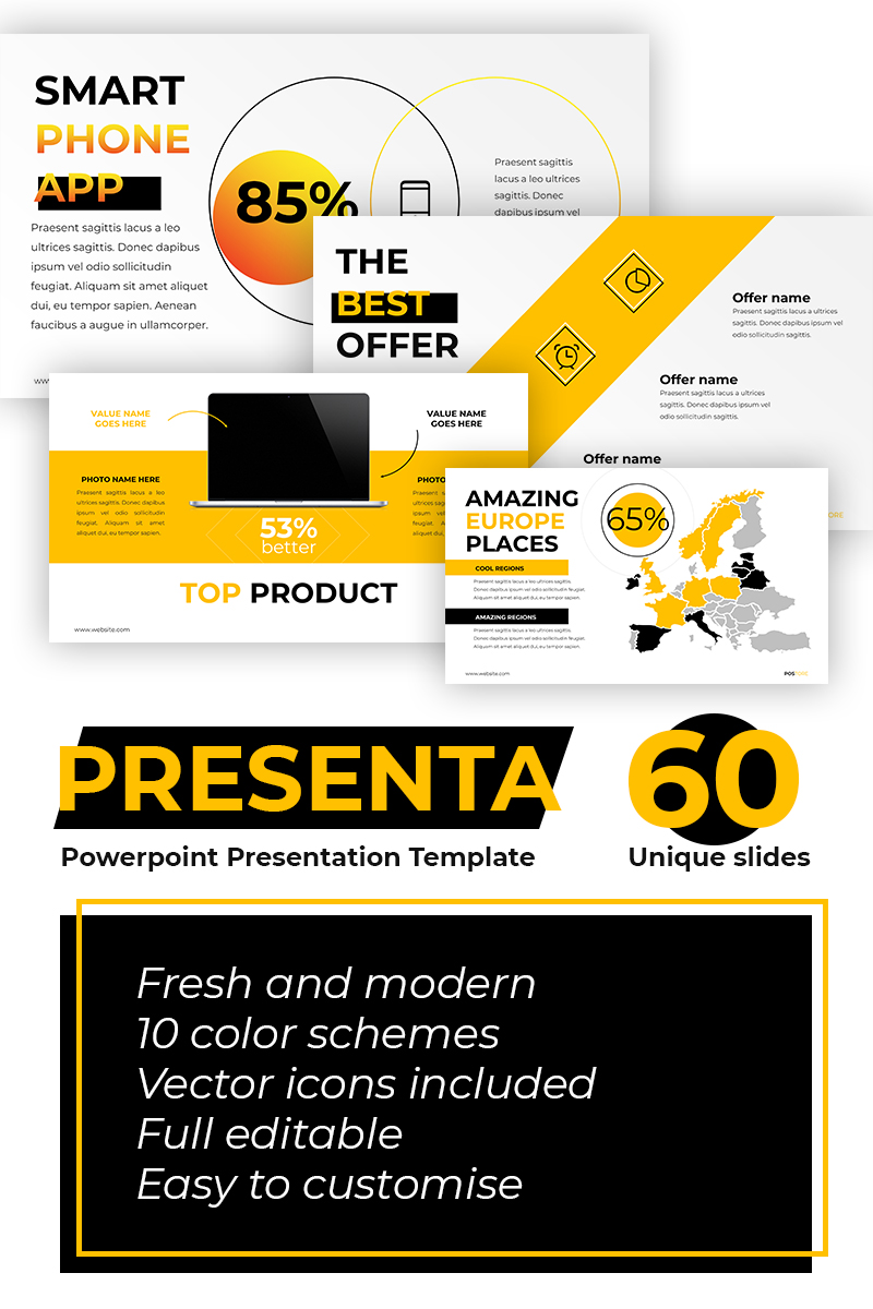 Postore - Business / Start UP PowerPoint Template