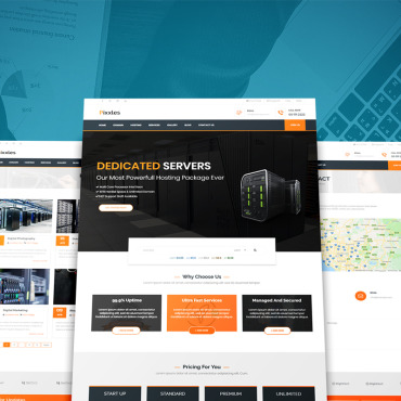 HTML/CSS Template #73778