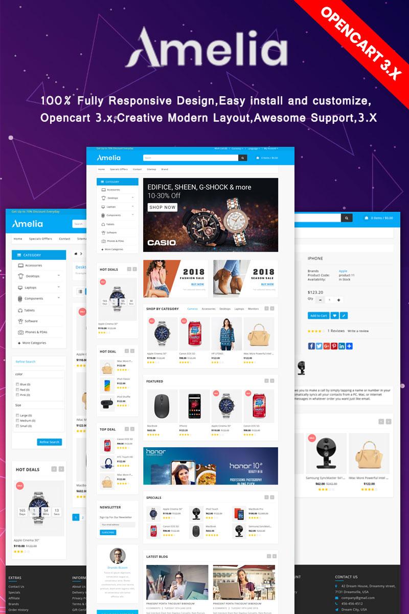 Amelia - Multipurpose OpenCart Template