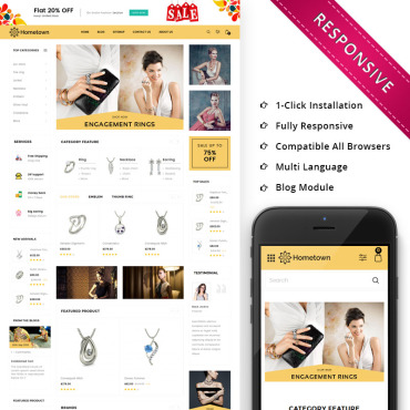 OpenCart Template #73822