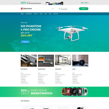 Website Template № 73920